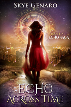 Echo Across Time teen paranormal romance